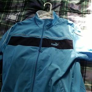 Puma track jacket size medium